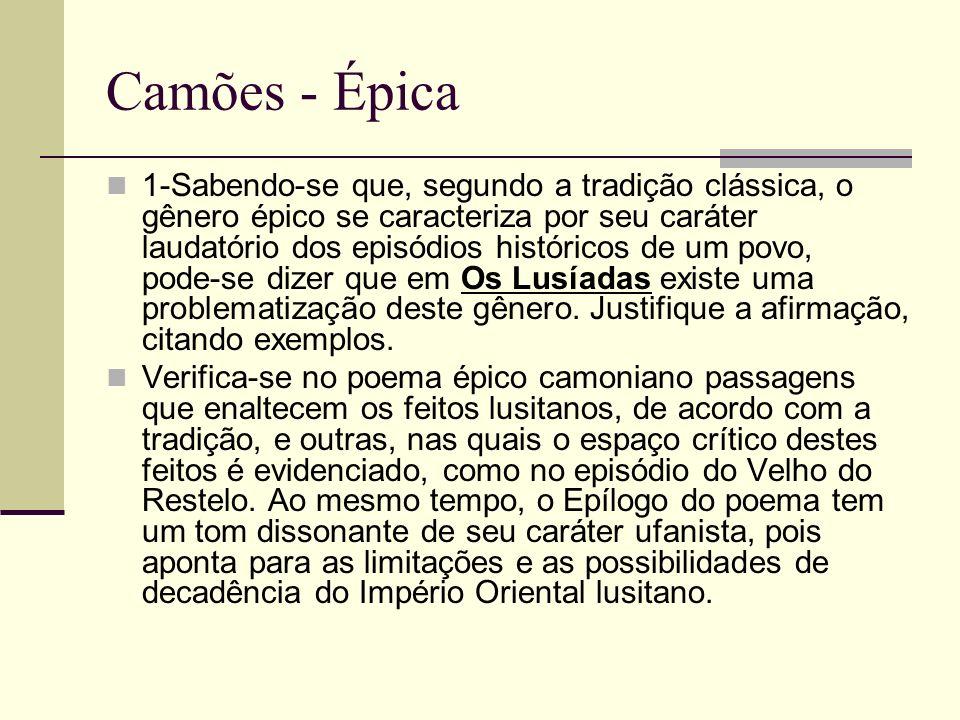 Camões - Épica