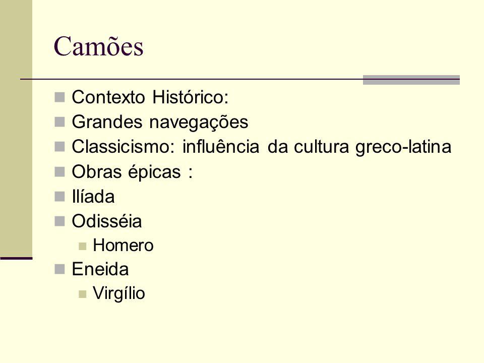 Camões Contexto Histórico: Grandes navegações
