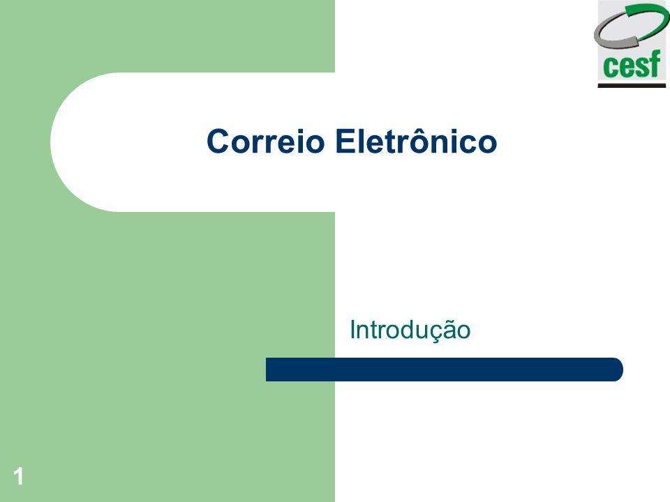 Correio Eletrônico Introdução