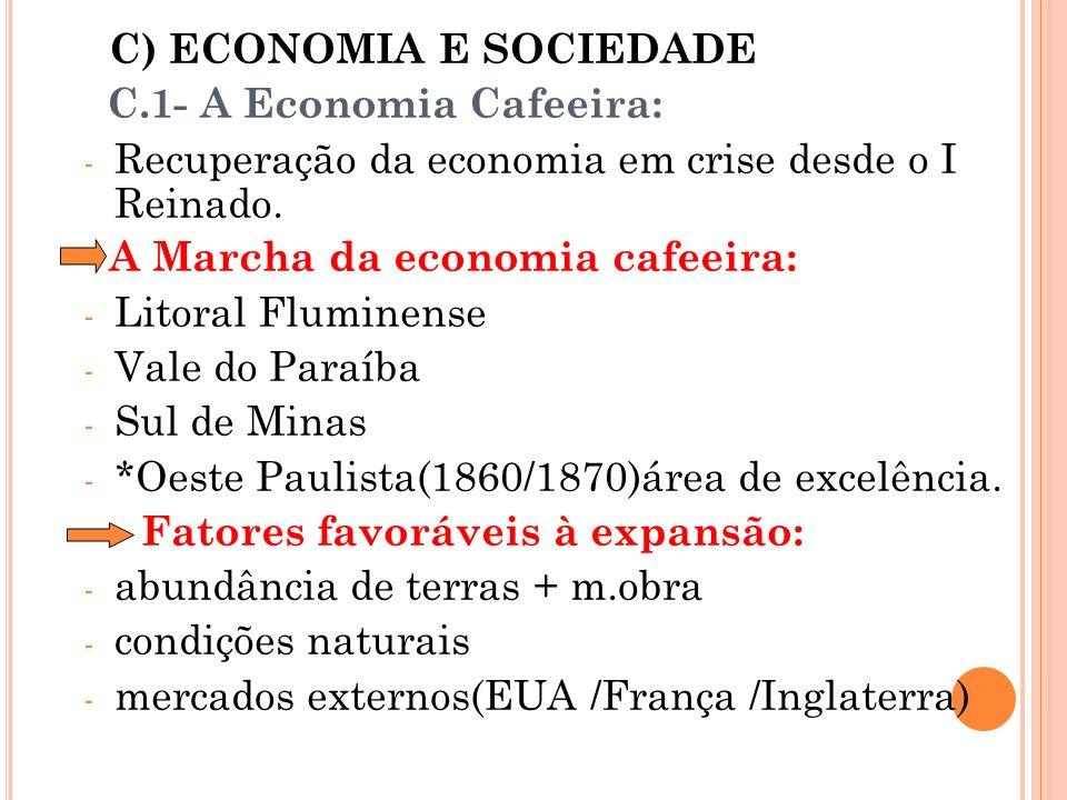 C) ECONOMIA E SOCIEDADE