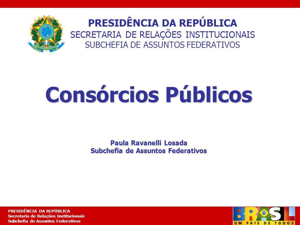 Paula Ravanelli Losada Subchefia de Assuntos Federativos