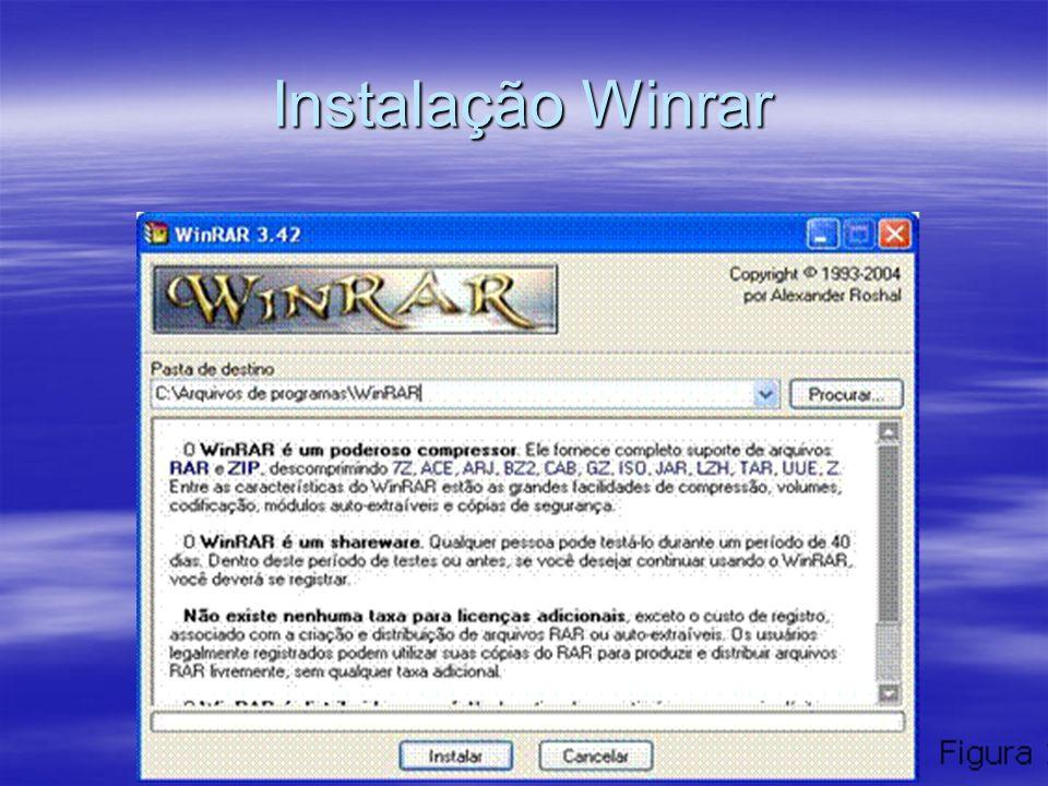 Instalação Winrar