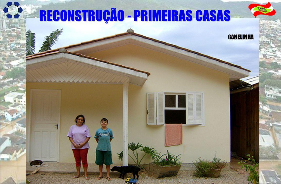 RECONSTRUÇÃO - PRIMEIRAS CASAS