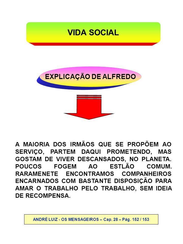 ANDRÉ LUIZ - OS MENSAGEIROS – Cap. 28 – Pág. 152 / 153