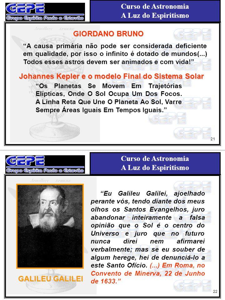 Johannes Kepler e o modelo Final do Sistema Solar
