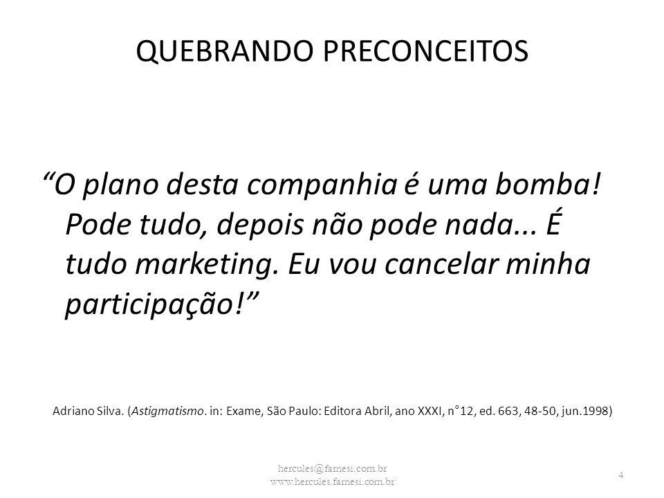 QUEBRANDO PRECONCEITOS