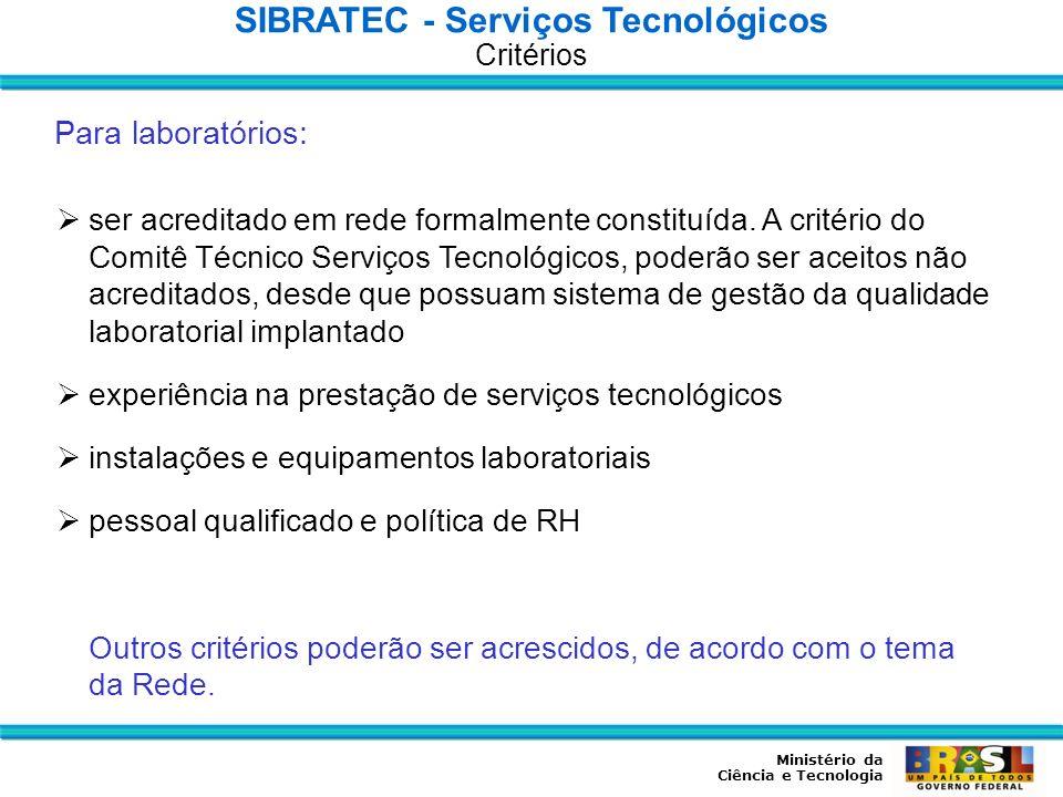 SIBRATEC - Serviços Tecnológicos