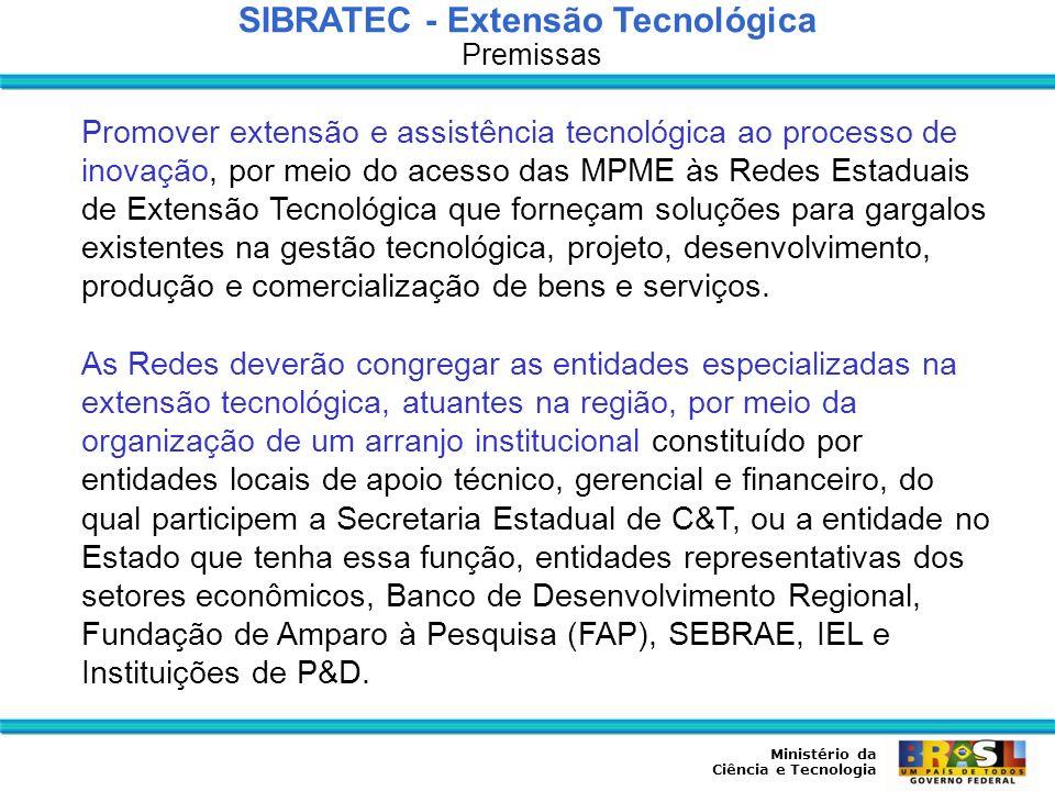SIBRATEC - Extensão Tecnológica