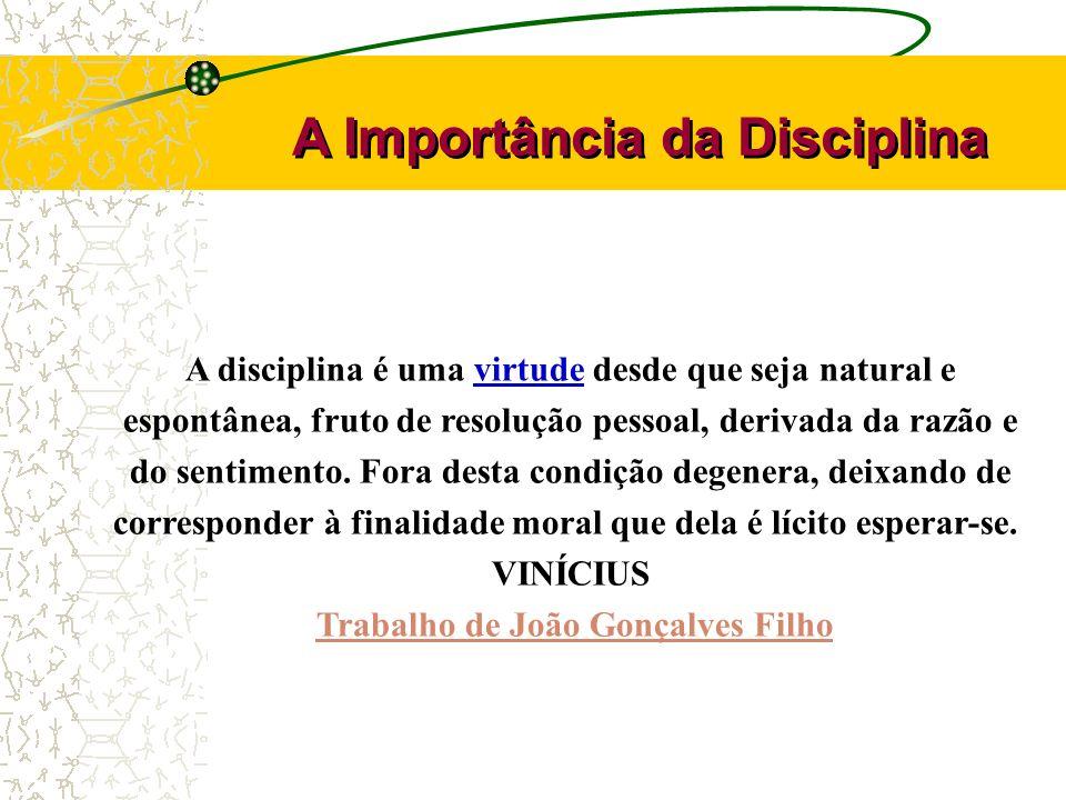 Trabalho de João Gonçalves Filho