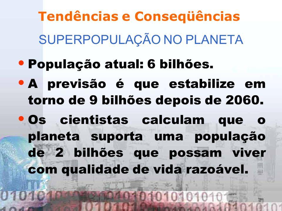 SUPERPOPULAÇÃO NO PLANETA