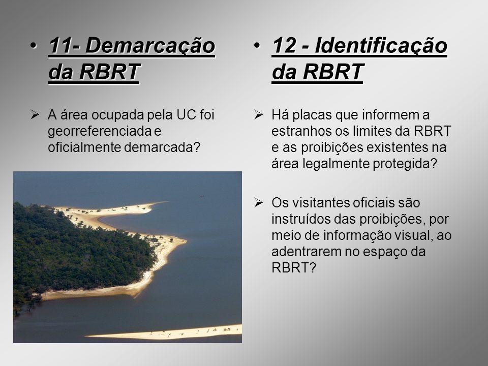 12 - Identificação da RBRT