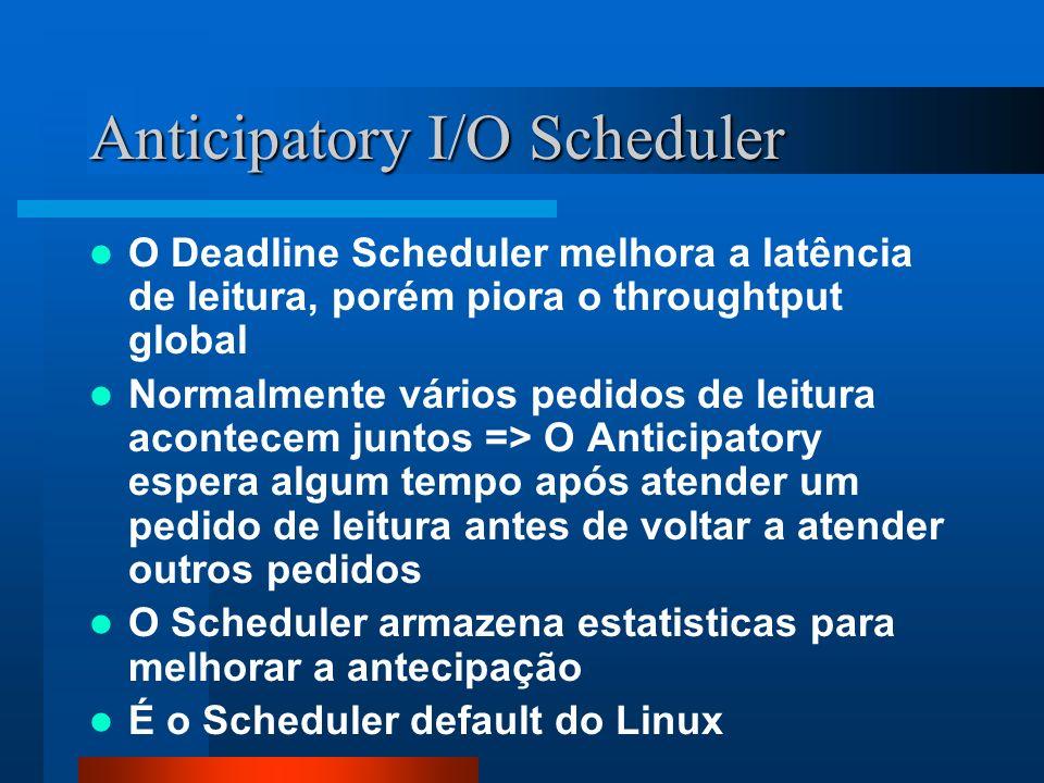 Anticipatory I/O Scheduler