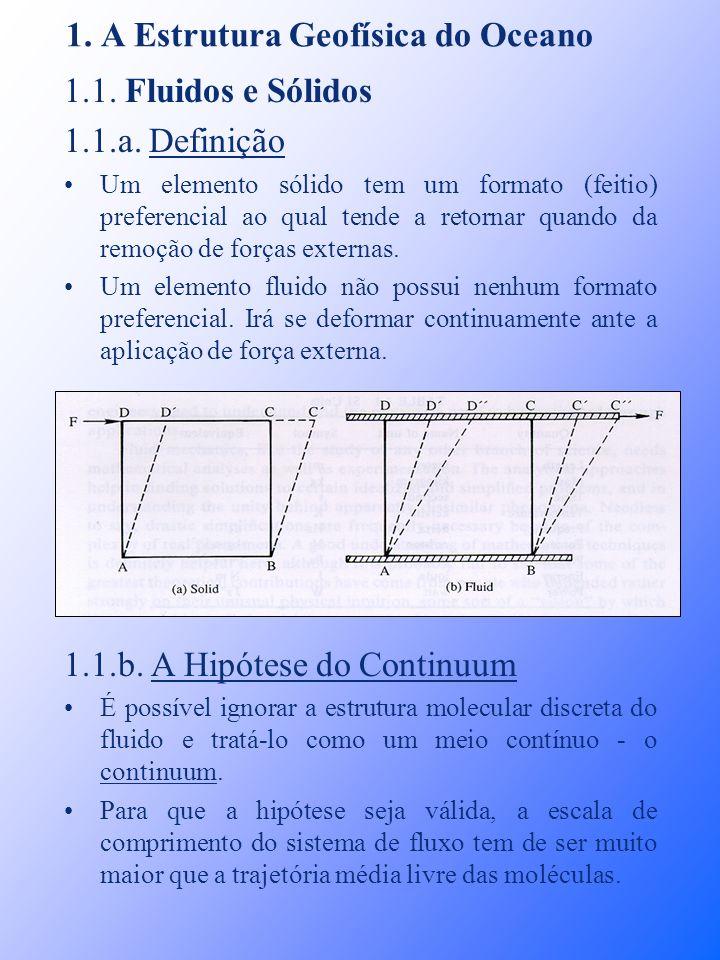 1. A Estrutura Geofísica do Oceano