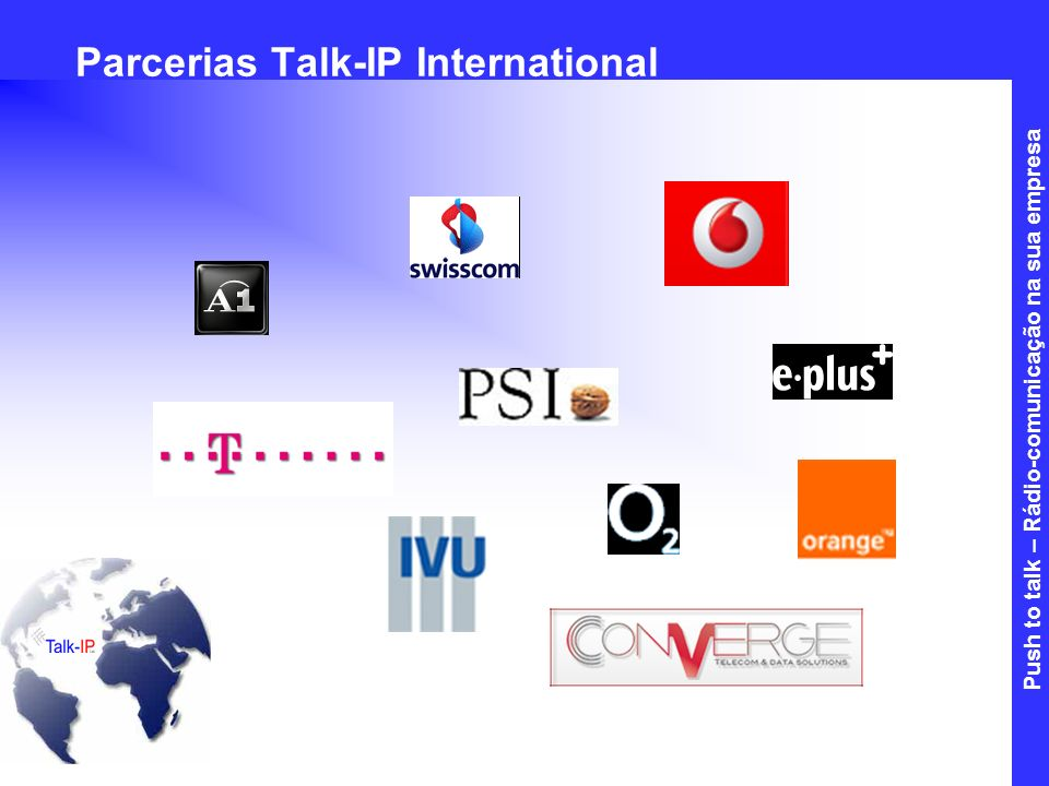Parcerias Talk-IP International