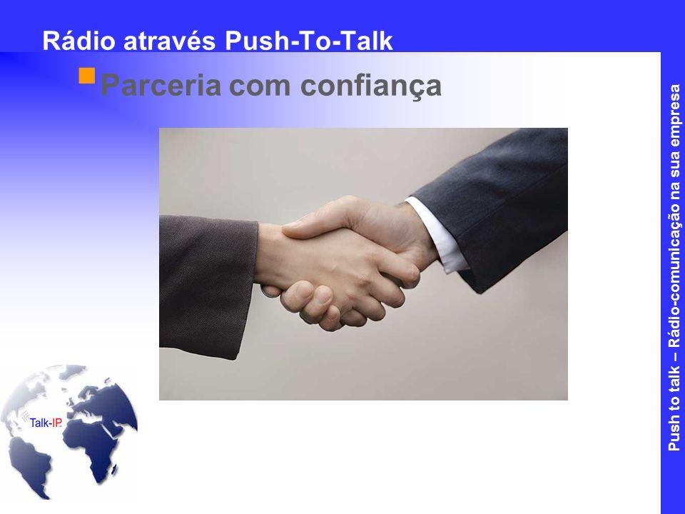 Rádio através Push-To-Talk