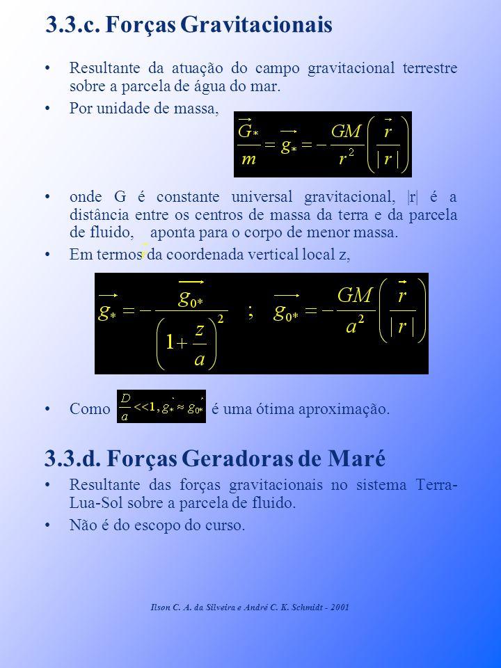3.3.c. Forças Gravitacionais