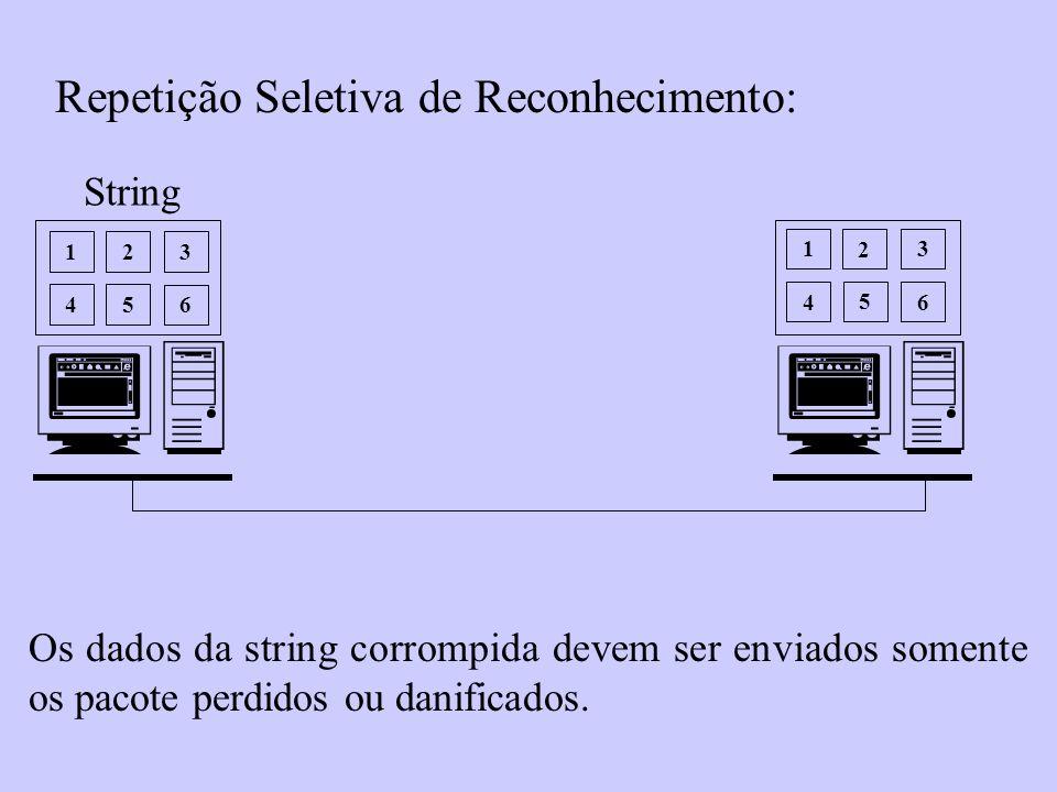  Repetição Seletiva de Reconhecimento: String