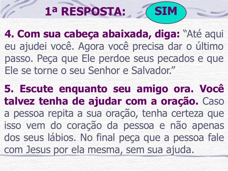 SIM1ª RESPOSTA: