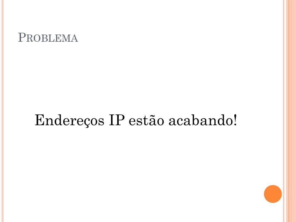 Endereços IP estão acabando!