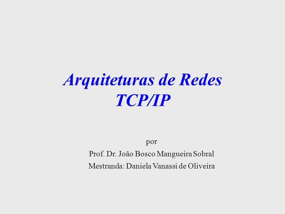Arquiteturas de Redes TCP/IP