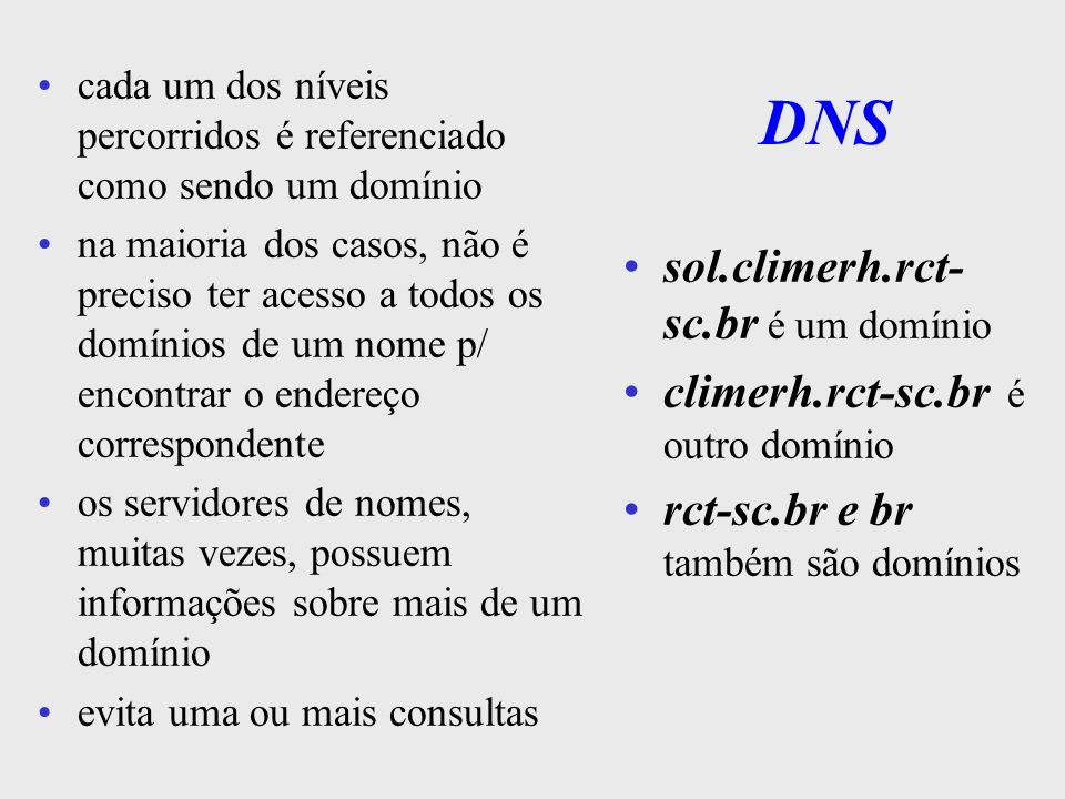 DNS sol.climerh.rct-sc.br é um domínio