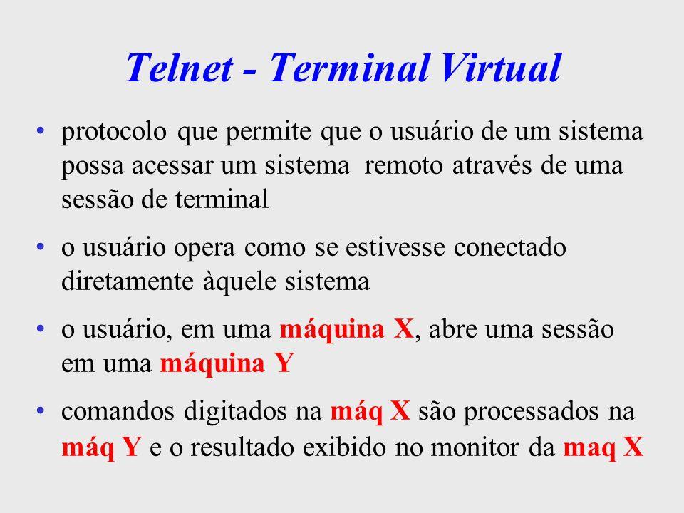 Telnet - Terminal Virtual
