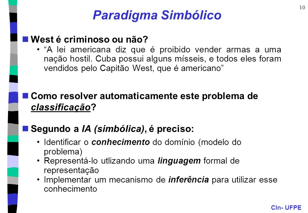 Paradigma Simbólico West é criminoso ou não