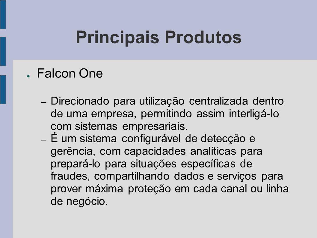 Principais Produtos Falcon One