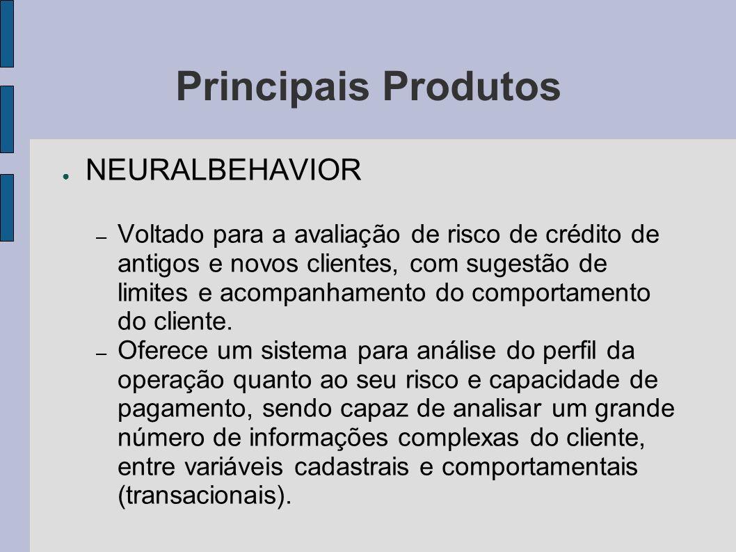 Principais Produtos NEURALBEHAVIOR