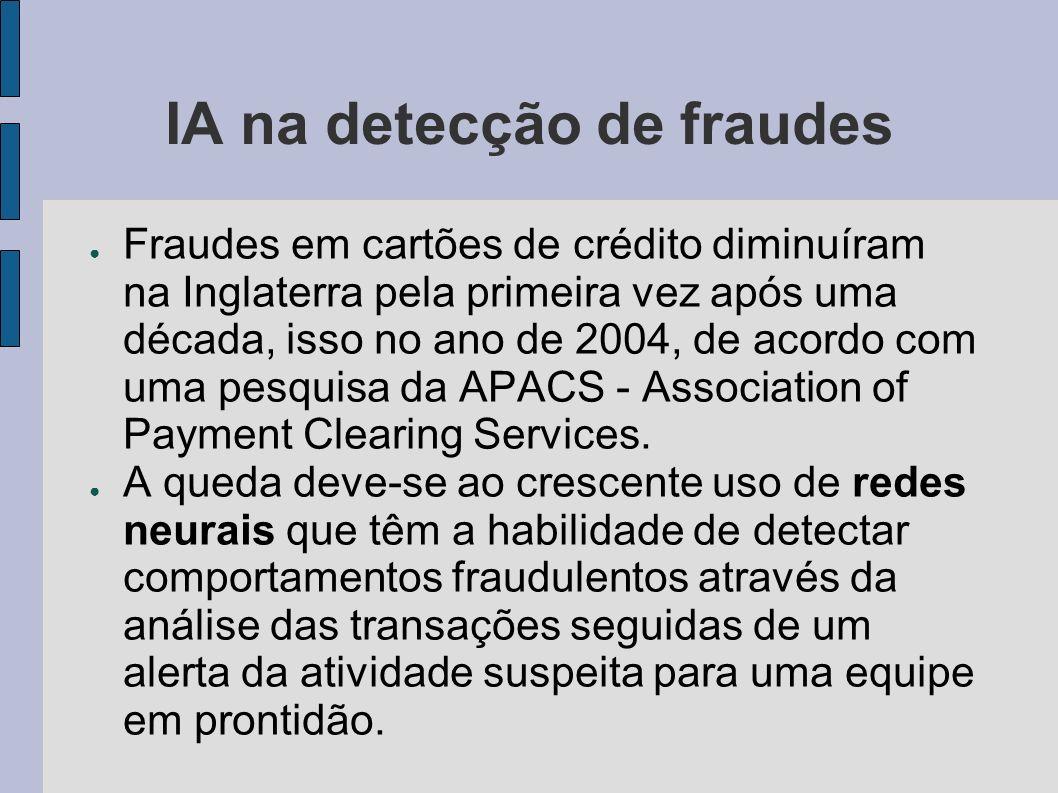 IA na detecção de fraudes