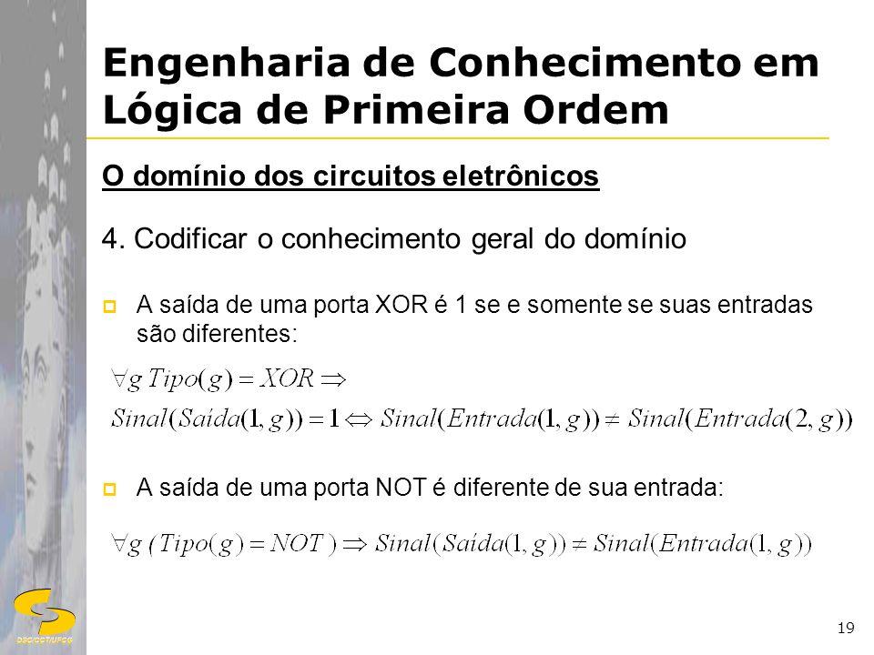 Engenharia de Conhecimento em Lógica de Primeira Ordem