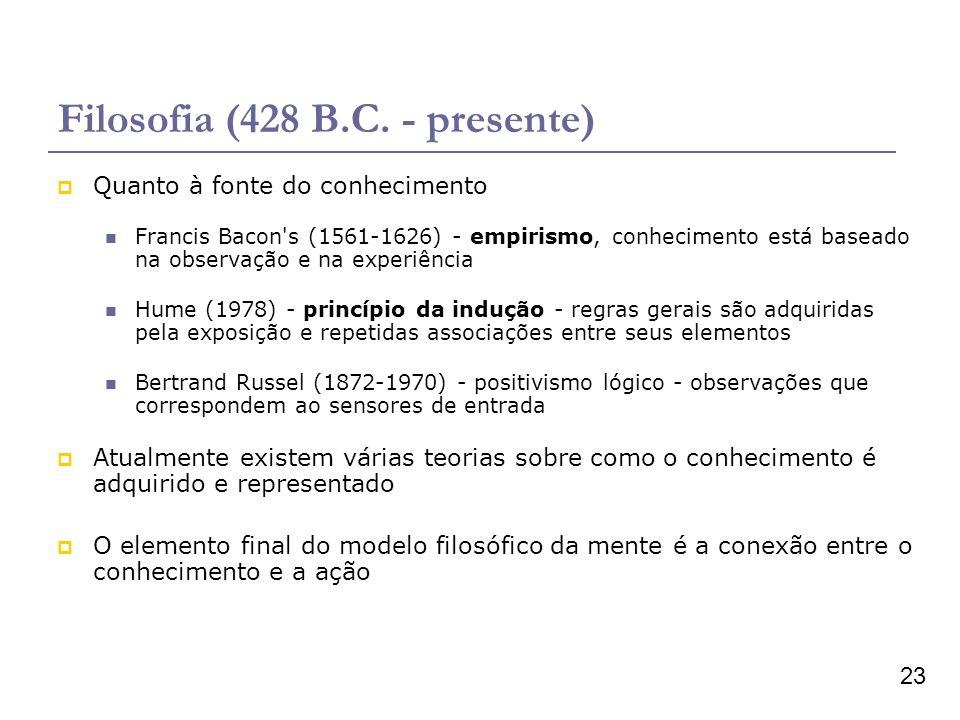 Filosofia (428 B.C. - presente)