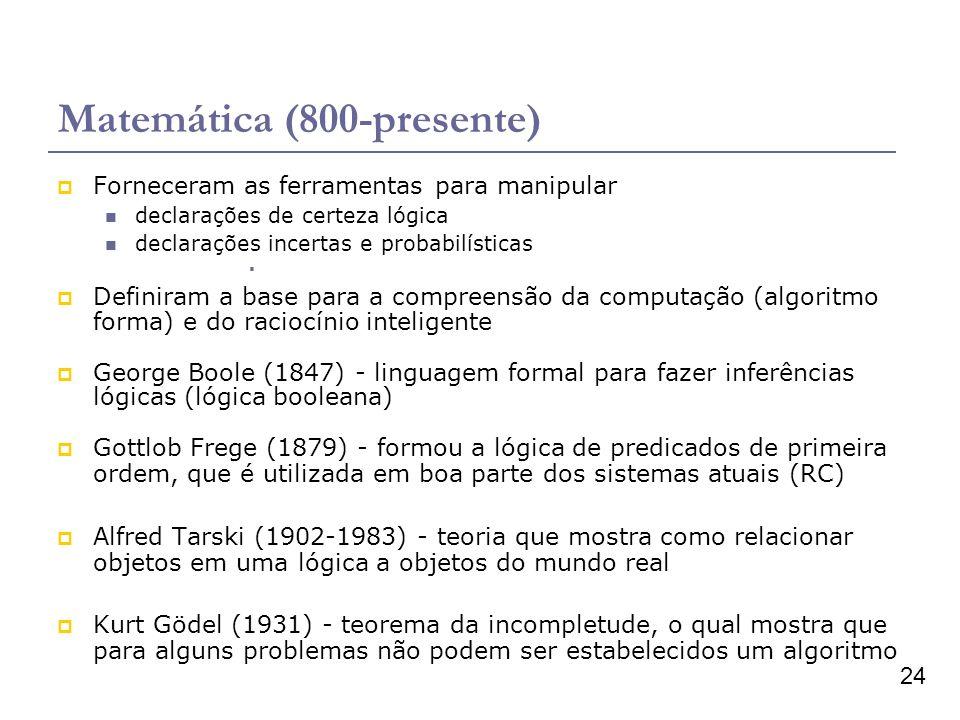 Matemática (800-presente)