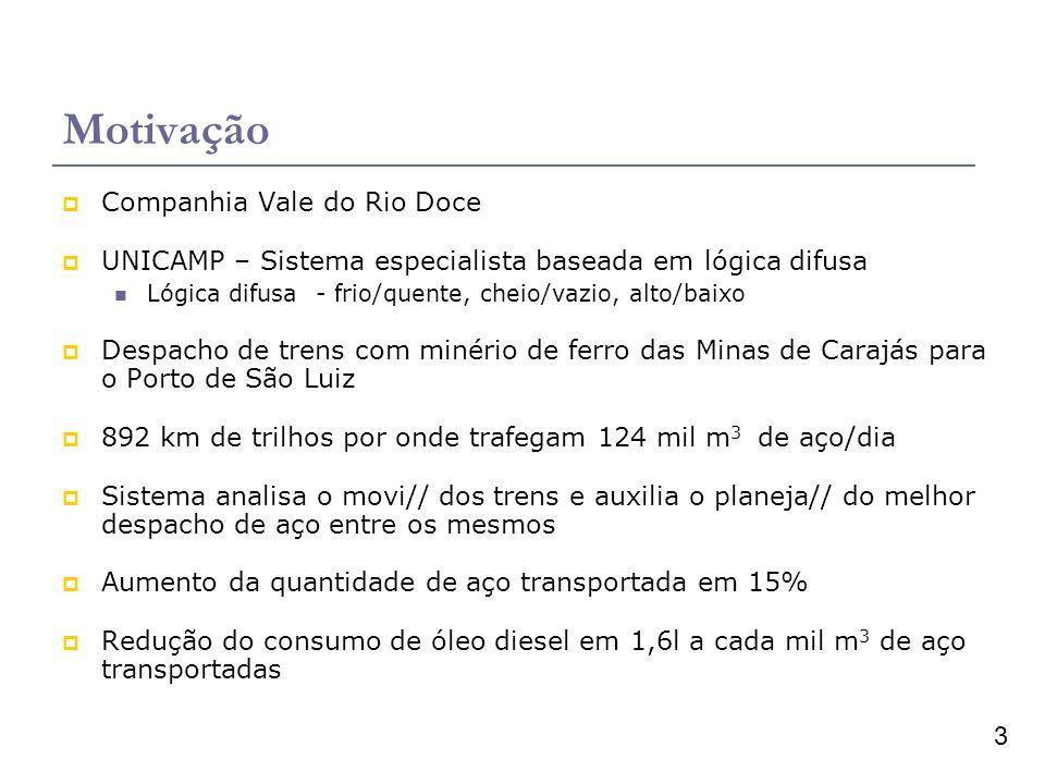 Motivação Companhia Vale do Rio Doce