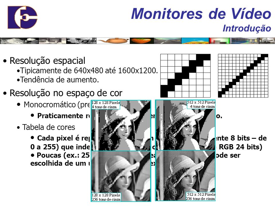 Monitores de Vídeo Introdução