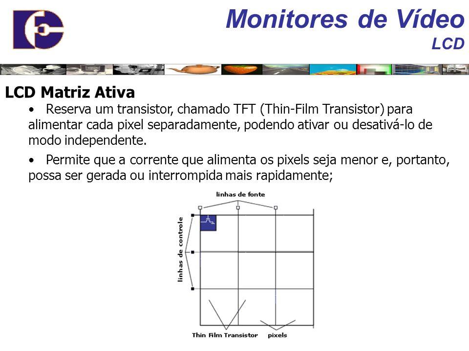 Monitores de Vídeo LCD LCD Matriz Ativa