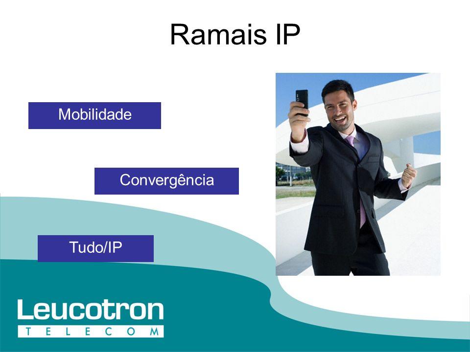Ramais IP Mobilidade Convergência Tudo/IP