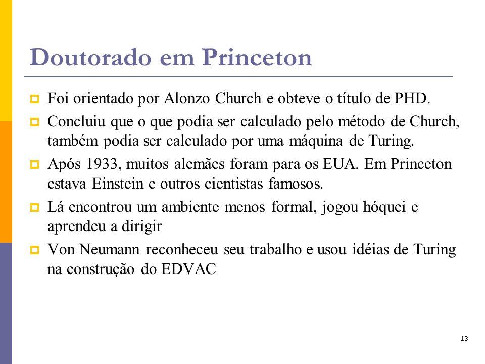 Doutorado em Princeton