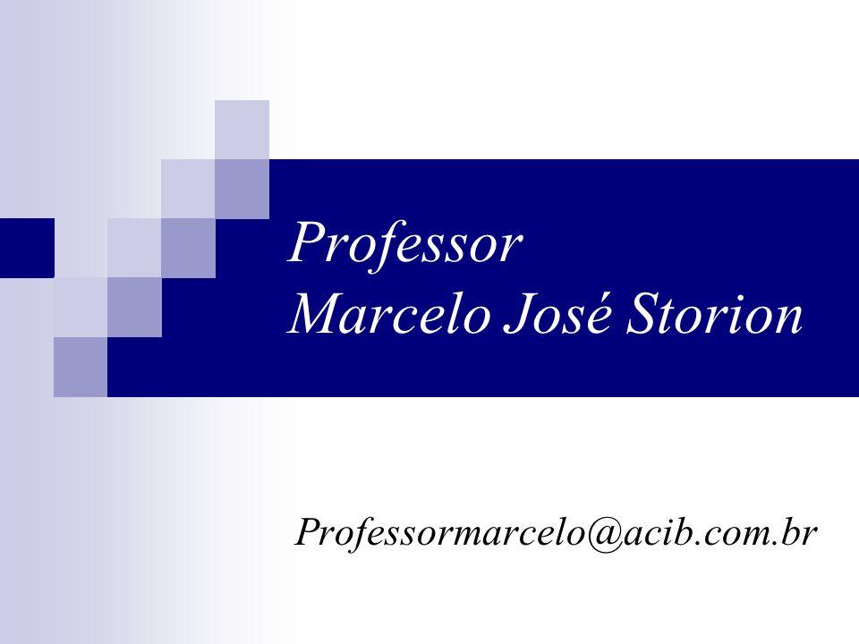 Professor Marcelo José Storion