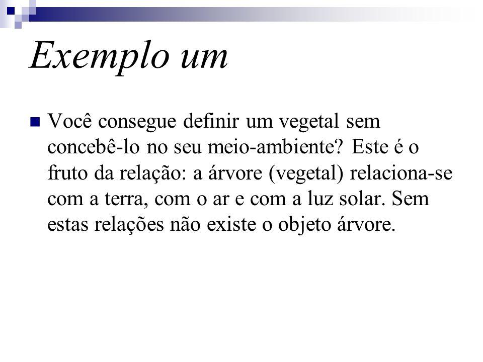 Exemplo um