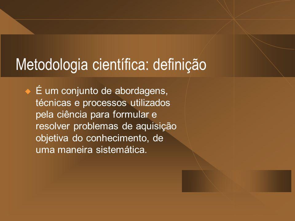 Metodologia científica: definição