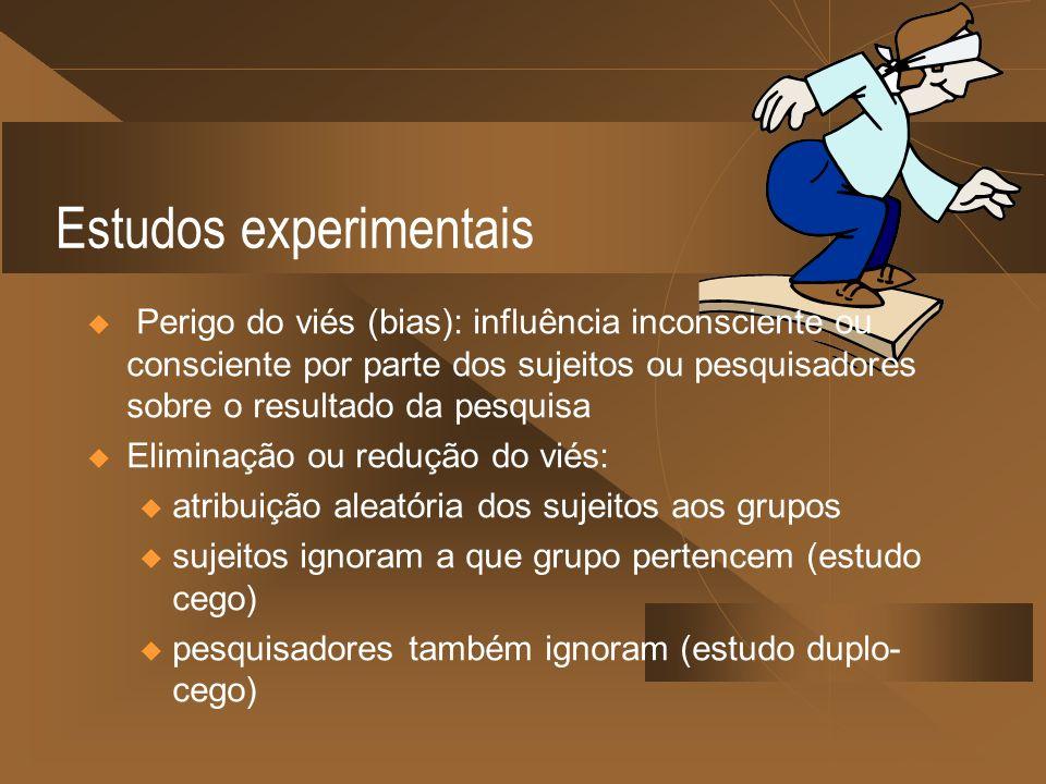 Estudos experimentais