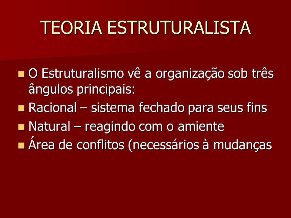 TEORIA ESTRUTURALISTA