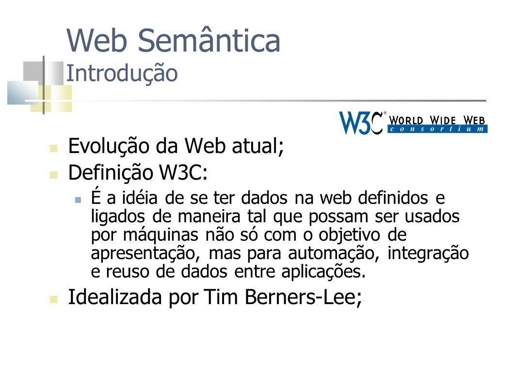 Web Semântica Introdução