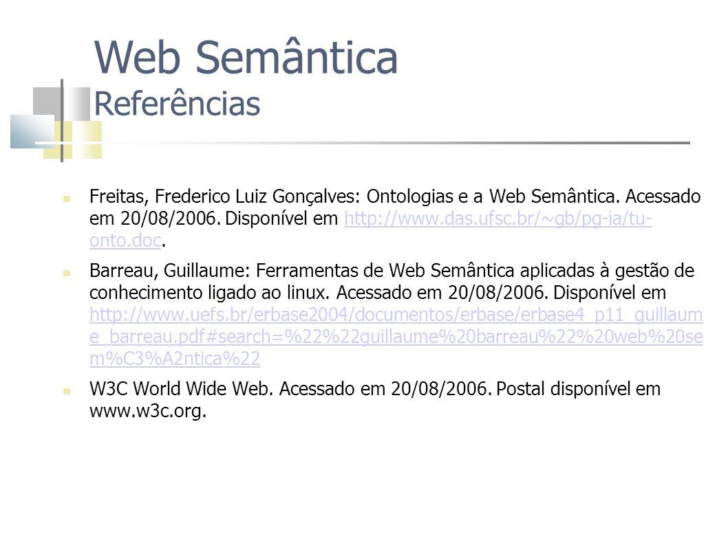 Web Semântica Referências