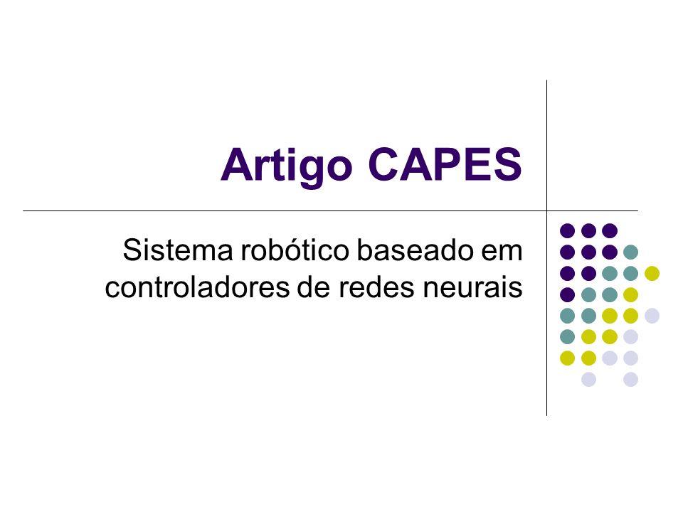 Sistema robótico baseado em controladores de redes neurais