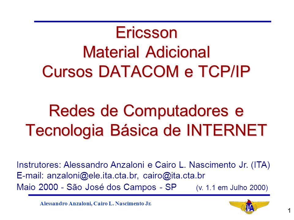 Ericsson Material Adicional Cursos DATACOM e TCP/IP Redes de Computadores e Tecnologia Básica de INTERNET