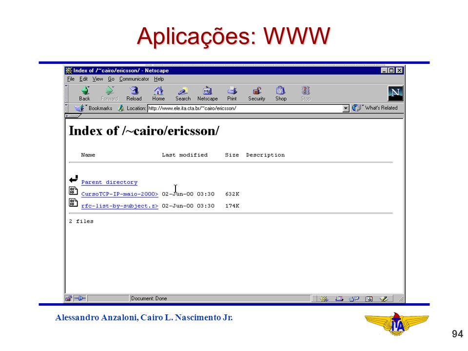 Aplicações: WWW
