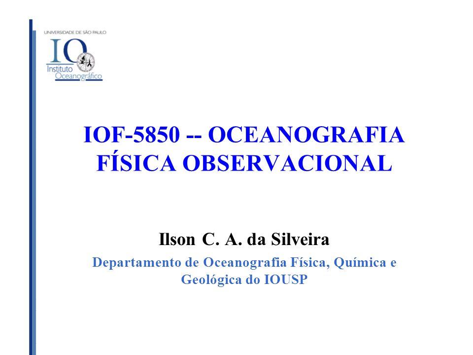 IOF-5850 -- OCEANOGRAFIA FÍSICA OBSERVACIONAL
