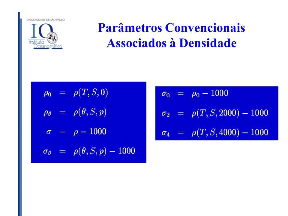 Parâmetros Convencionais Associados à Densidade